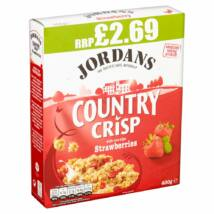 Jordans Country Crisp Strawberry Cereal 400g
