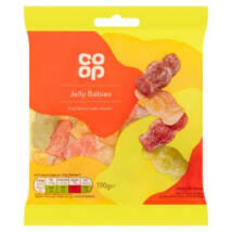 Co Op Jelly Babies 175g
