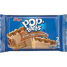 Kellogg's Pop Tarts Frosted Brown Sugar Cinnamon 100g (2 Pack)