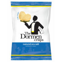 The Dormen Natural Sea Salt Crisps 40g (Tengeri sós chips)