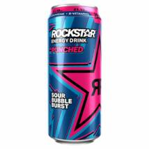 Rockstar Sour Bubbleburst új design PM £1.19 500ml
