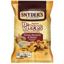Snyder's of Hanover Honey Mustard & Onion Pretzel Pieces [USA] 125g