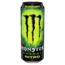 Monster Nitro Super Dry - árcímke nélküli 500ml