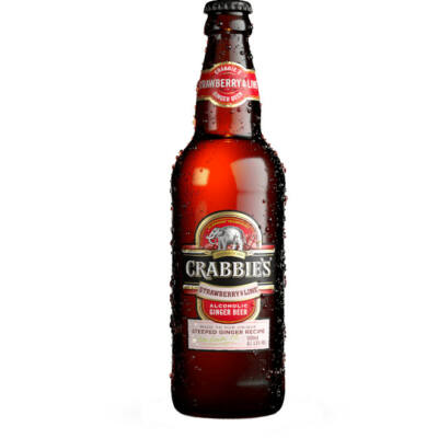 Crabbies Strawberry & Lime 500ml