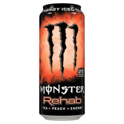 Monster Rehab Peach [USA] 458ml