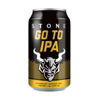 Stone Brewing - Go To IPA (355ml, 4.7%)