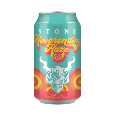 Stone Brewing- Neverending Haze - Hazy IPA (355ml, 4.0%)