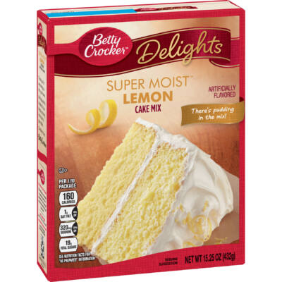 Betty Crocker Super Moist Lemon Cake Mix [USA] 432g