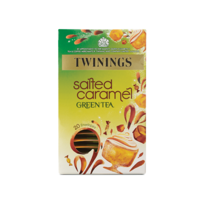 Twinings  Salted Caramel Indulgence Green Tea - 20 Envelopes