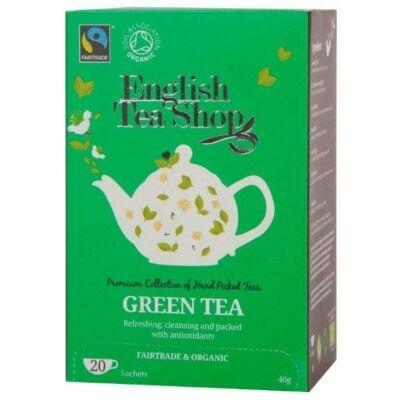 English Tea Shop - Bio Zöld Tea 20 db borítékolt filter