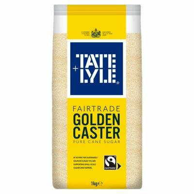 Tate & Lyle Fairtrade Golden Caster Sugar 1kg