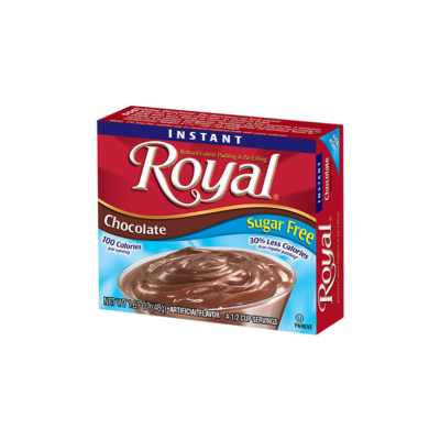 Royal Pudding Chocolate Sugar Free