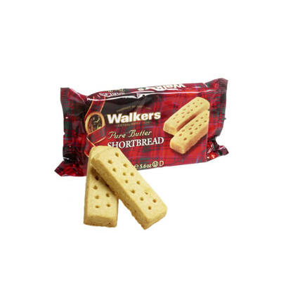 Walkers Butter Shortbread Fingers - Walkers Skót Vajas-Keksz Rudacskák 160g