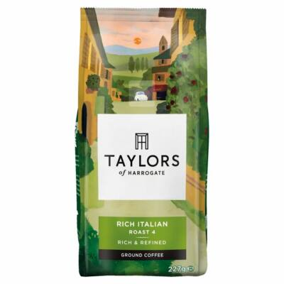 Taylors Rich Italian Dark Roast Coffee 227g