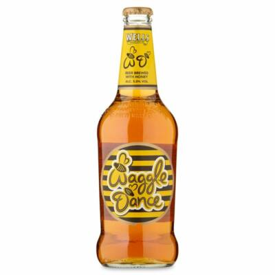 Wells Waggle Dance Honey Beer (500ml, 5.0%)