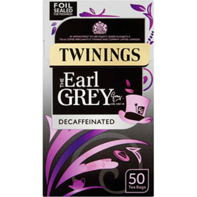 Twinings Decaffeinated Earl Grey Tea - 50 db filter