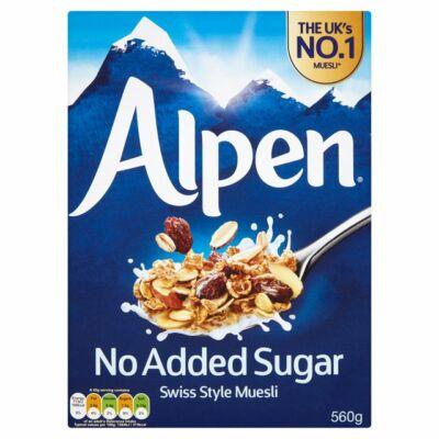 Alpen Müzli - No Added Sugar (Cukormentes) 560g