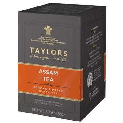 Taylors of Harrogate Pure Assam Tea Bags 20db borítékolt filter