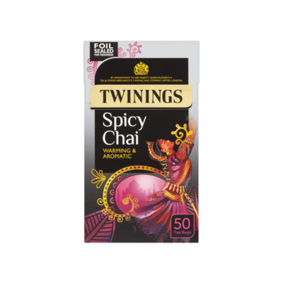 Twinings Spicy Chai Tea - 50 db filter