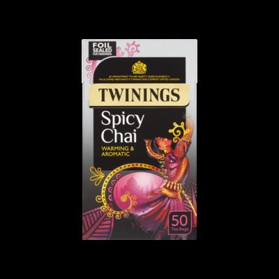 Twinings Spicy Chai Tea - 50 db filter