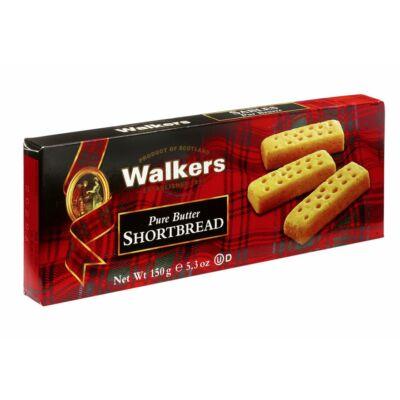 Walkers Butter Shortbread Fingers (kartondobozos kiszerelés) 150g