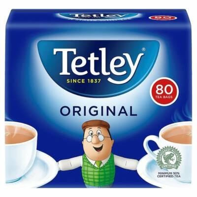 Tetley Tea 80 db filter
