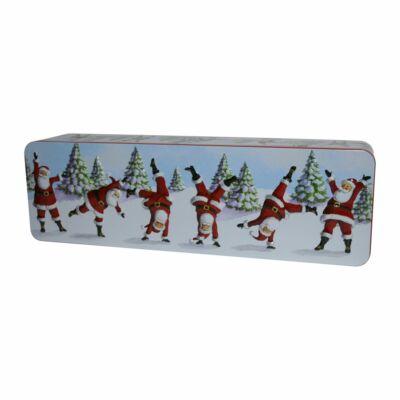 Grandma Wild's Embossed Dancing Santa Tin 200g