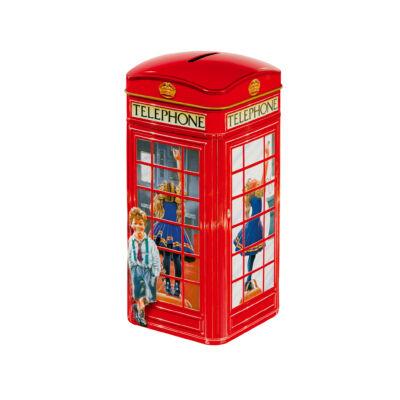 Churchills Telephone Kiosk (Telefonfülkés fémdoboz karamellával) 200g