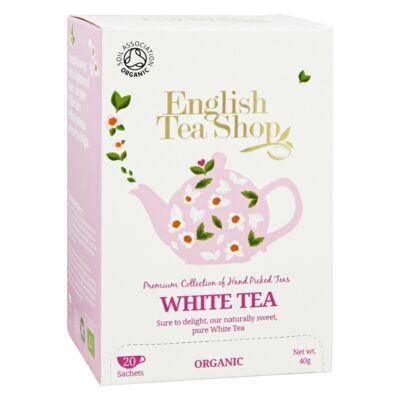 English Tea Shop - Bio fehér tea 20 db filter