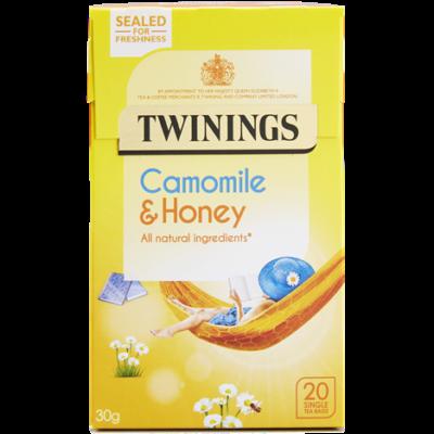 Twinings Camomile & Honey Tea (Kamilla, Méz, Vanília) - 20 db filter