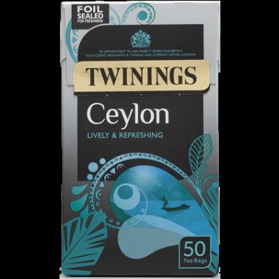 Twinings Ceylon Tea 50 db filter