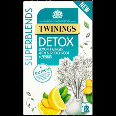 Twinings Superblends Detox Tea 20 db filter - Méregtelenítő hatású tea
