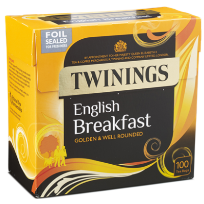Twinings English Breakfast Tea 100 db filter