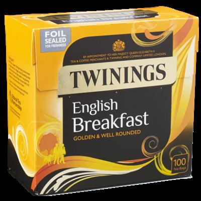 Twinings English Breakfast Tea 100 db filter