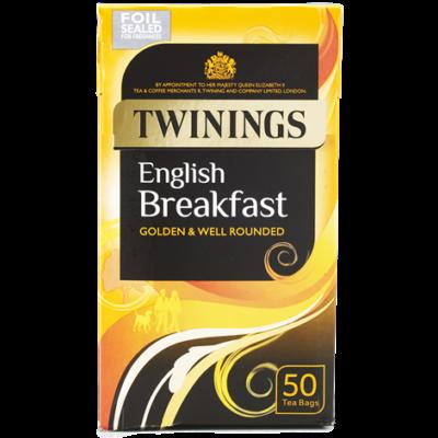 Twinings English Breakfast Tea 50db filter