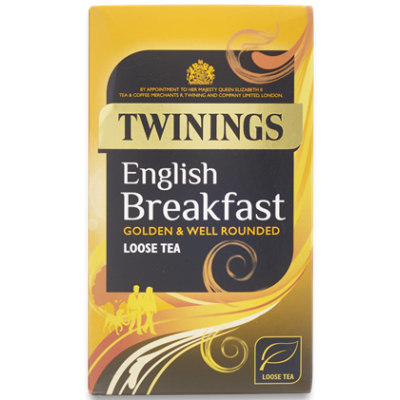Twinings English Breakfast szálas tea 125g