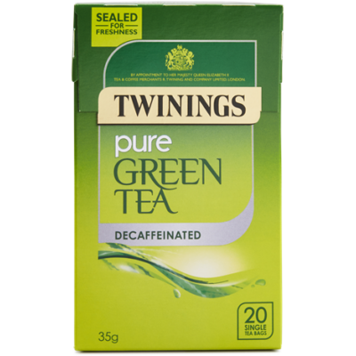 Twinings Decaffenaited Green Tea (Koffeinmentes Zöld Tea) 20 db filter