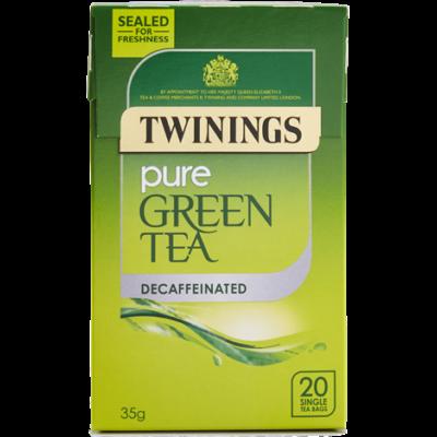 Twinings Decaffenaited Green Tea (Koffeinmentes Zöld Tea) 20 db filter
