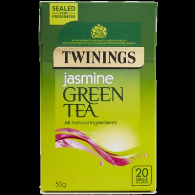 Twinings Green Tea with Jasmine (Zöld Tea Jázminnal) 20 db filter