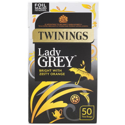 Twinings Lady Grey Tea - 50 db filter