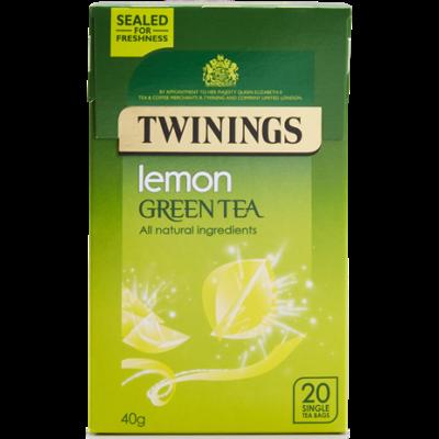 Twinings Green Tea Lemon (Zöld Tea citrommal) 20db filter