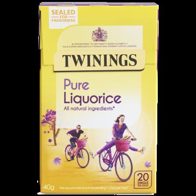 Twinings Liquorice (Édesgyökér) Tea 20 db filter