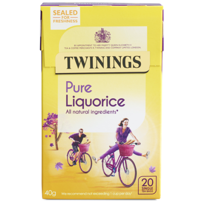 Twinings Liquorice (Édesgyökér) Tea 20 db filter