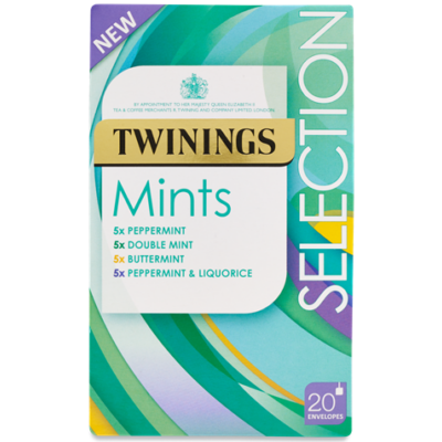 Twinings Mint Selection- 20 db borítékolt filter