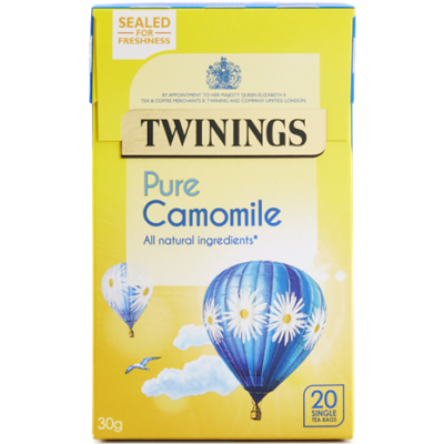 Twinings Pure Camomile Tea (kamilla tea) - 20db filter
