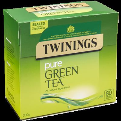 Twinings Pure Green Tea (Zöld Tea) 80 db filter