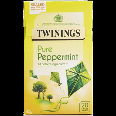 Twinings Pure Peppermint Tea (borsmenta tea) - 20db filter