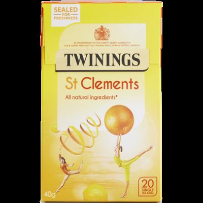 Twinings St Clements (Narancs és citrom gyümölcstea) 20 db filter