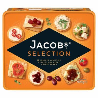 Jacob's kekszválogatás sajtokhoz 900g