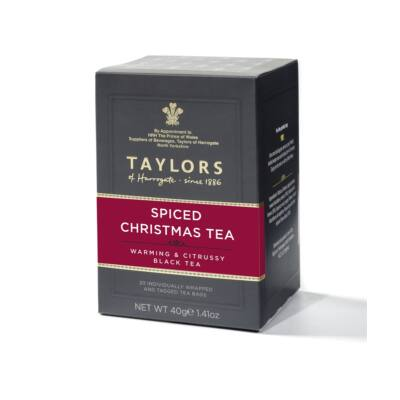 Taylor's of Harrogate Spiced Christmas Tea 20 db borítékolt filter